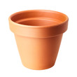 flower pot isolated on white
