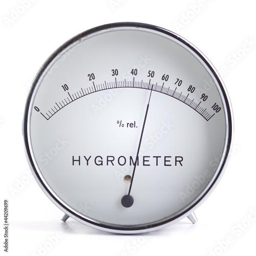 Leinwandbild Motiv Hygrometer