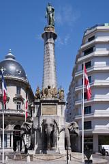 The elephants fountain