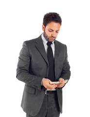Businessman - Count money