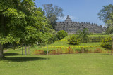 Borobodur - buddhist temple in Indonesia.