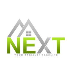Next (Real Estate Logo)