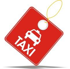 étiquette taxi