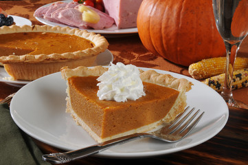Pumpkin pie for the holidays