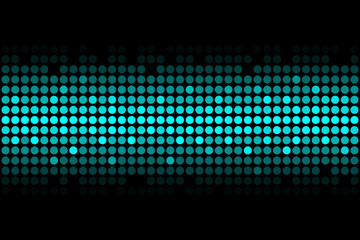 blue lights - vector abstract background