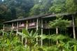 Orang-ulu longhouse, Damai, Sarawak, Borneo, Malaysia