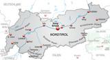 Umgebungskarte von Tirol und Umgebung