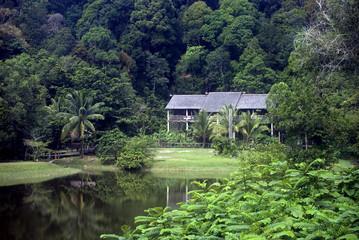 Open-air museum, Damai, Sarawak, Borneo, Malaysia