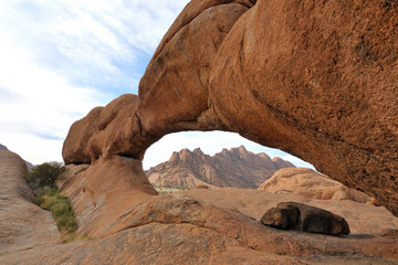 The Bridge, Spitzkoppe, Namibia