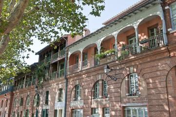 façade en brique Toulouse