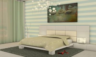 Schlafen in Pastelltönen