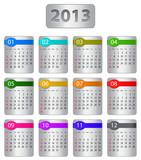 Fototapety Calendar for 2013 year