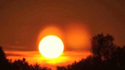 Time lapse sunset 4