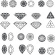 diamond design elements - cutting samples - 44225834