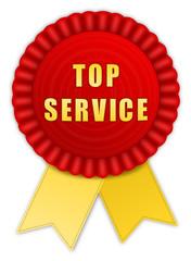 Plakette top Service