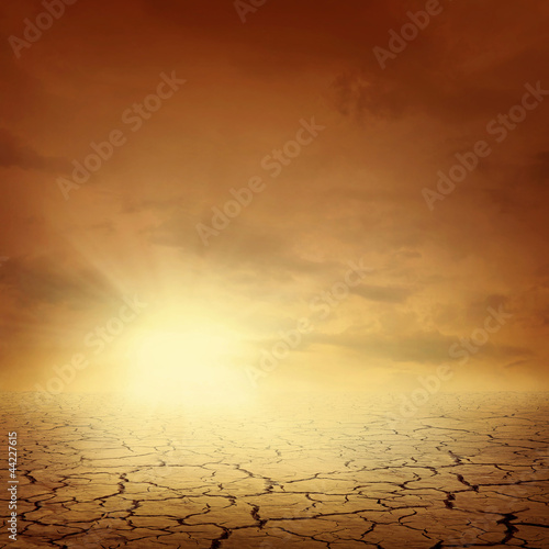 Desert landscape background - 44227615