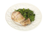 Chicken thigh with Watercress
