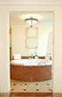 Bathroom in the luxurious hotel, Dubai, UAE