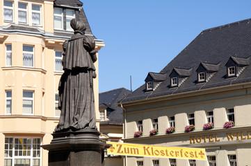 Denkmal Barbara Uttmann Annaberg Buchholz