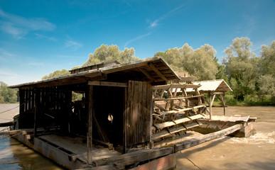 Wassermühle bei Verzej