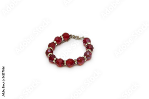 bracelet on a white background