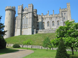 Arundel Castle, West Sussex, England.