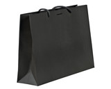 Black shopping bag.