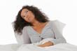femme souffrant d'insomnies