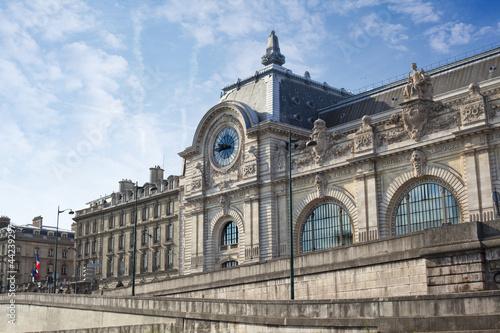 Fotobehang Treinstation Le Quai d'Orsay