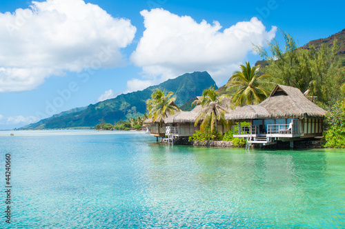 Bungalows in Tahiti