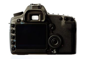 Rückseite Digitalkamera