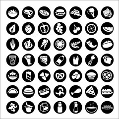 big set of food icons 1