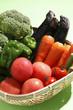 新鮮野菜盛り