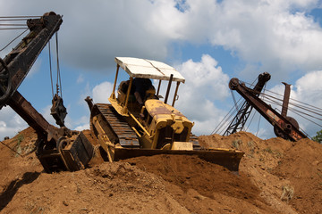 Earthmovers in Action