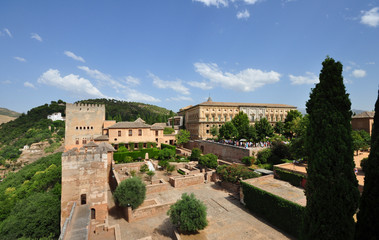 Alhambra of Granada, Spain