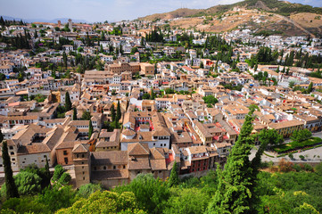 Albacin of Granada, Spain
