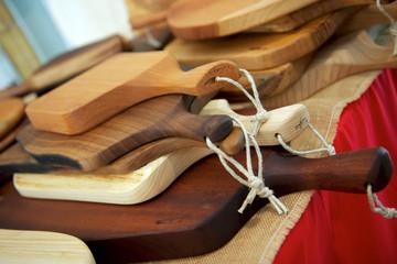 taglieri artigianali in legno