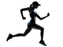 Läuferin jogger