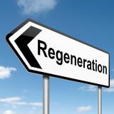 Regeneration concept. poster