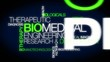Biomedical Engineering word tag cloud animation