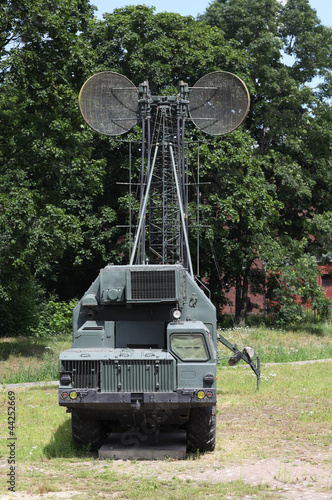 military  mobile communications center