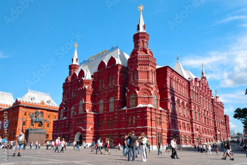 The State Historical Museum of Russia in Moscow