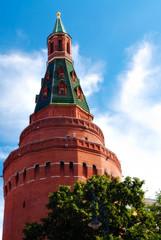 Corner Arsenal Tower (Sobakina) of the Moscow Kremlin