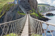 Rope Bridge at Carrick-a-Rede in Northern Island