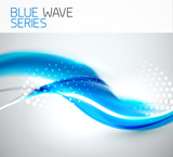 Abstract wave background - 44254094