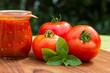 Tomatensauce mit Tomaten