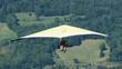 Leinwanddruck Bild - Deltaplane