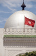 landmark large silver dome mosque and flag Sousse Tunisia Africa