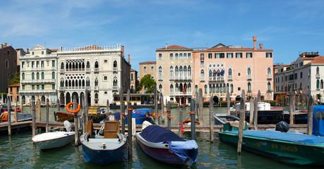 Palazzi am Canale Grande in Venedig