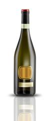 bottiglia vino bianco o spumante